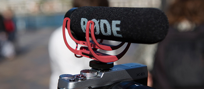 Rode microphone Mic Go sur videobooth Strasbourg Fotomax